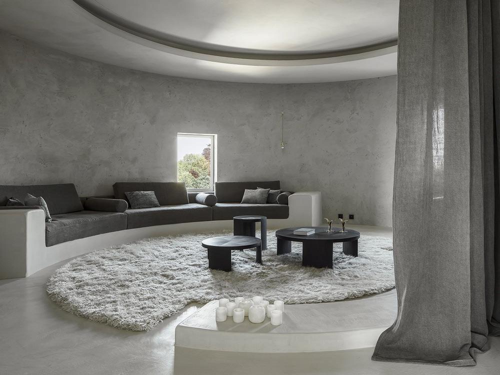 Cement design prostorija za prijeme