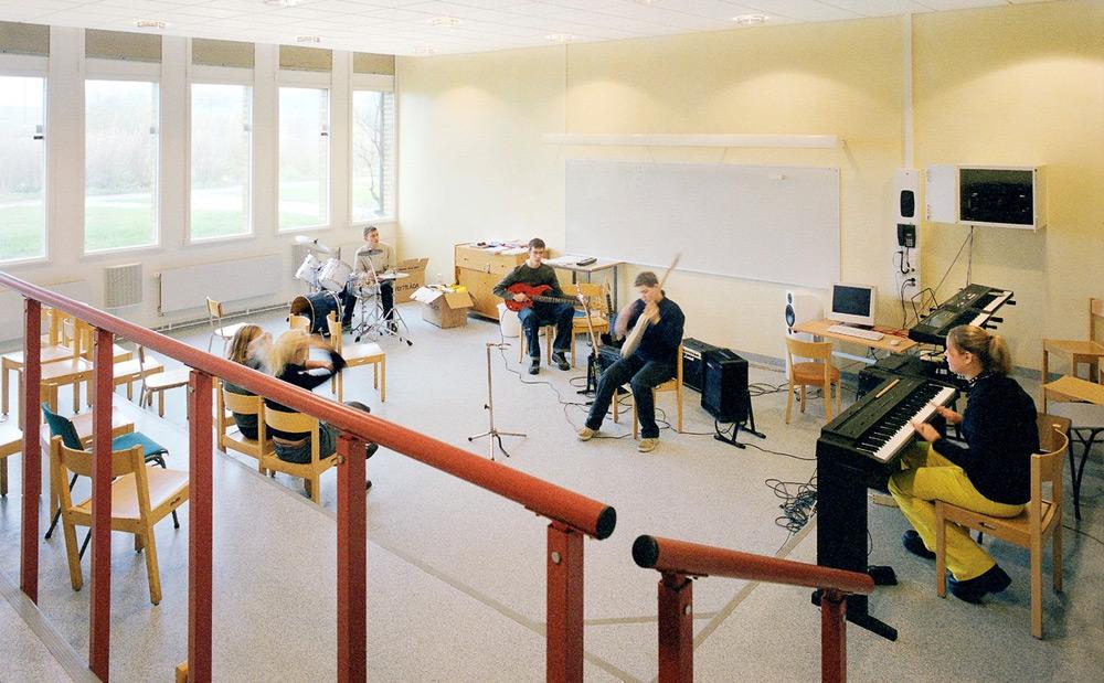 Muzička škola, vir: ecophon.com